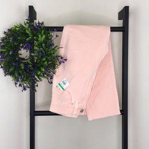 Madewell Pink Denim